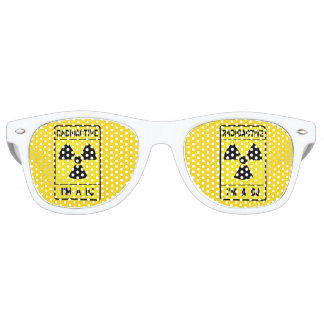 Radioactive DJ Retro Sunglasses