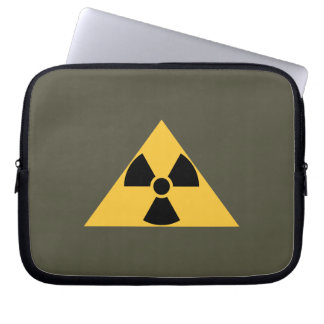 Radioactive Emblem Laptop Sleeve