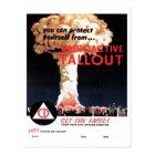 """Radioactive Fallout"" Postcard"