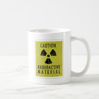 'radioactive materials' coffee mug