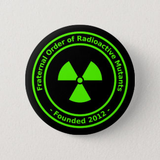 Radioactive Mutants Button