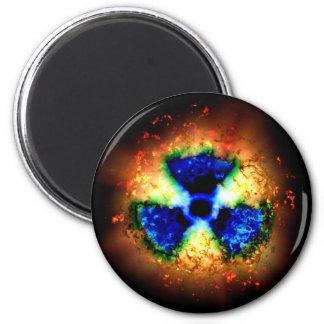 radioactive refrigerator magnet