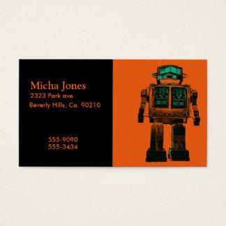 Radioactive Robot Rebellion Business Card