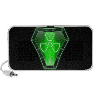Radioactive iPod Speaker