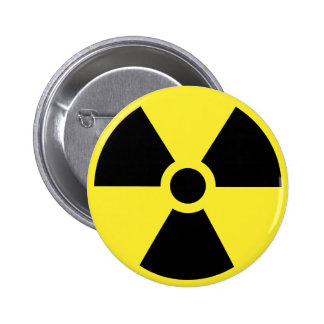 Radioactive Symbol Button