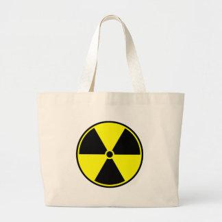 Radioactive Symbol Jumbo Tote Bag