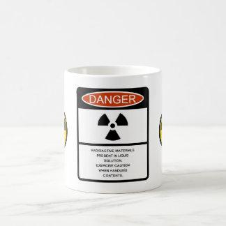 Radioactive Warning Morphing Mug