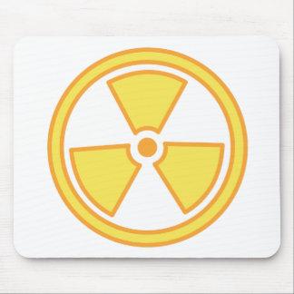 Radioactive Warning Mouse Pad