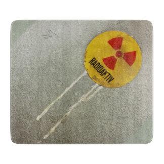 radioactively contaminates - cut board