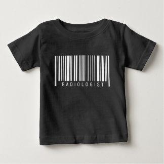 Radiologist Barcode Baby T-Shirt