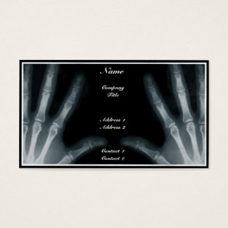 Radiologist - Business Card