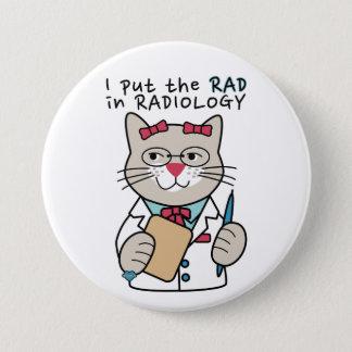 Radiologist Radiology 7.5 Cm Round Badge