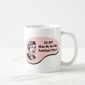 Radiologist Voice Mugs