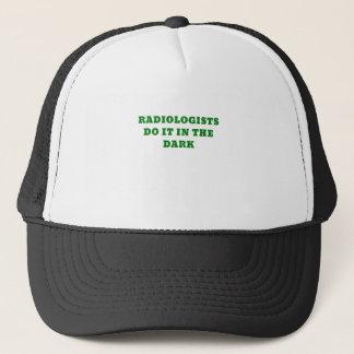 Radiologists do it in the Dark Cap