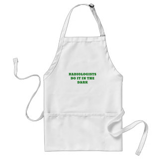 Radiologists do it in the Dark Standard Apron