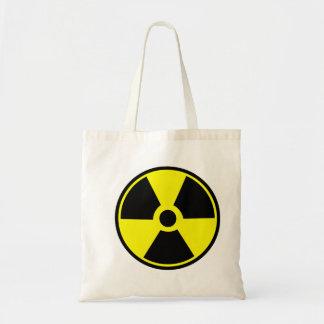 Radiology Radiation Safety Symbol tote bag
