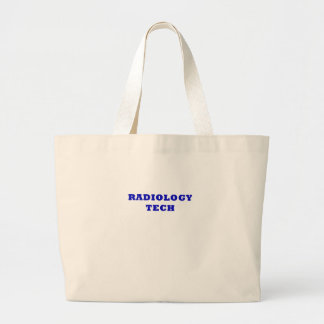 Radiology Tech Large Tote Bag