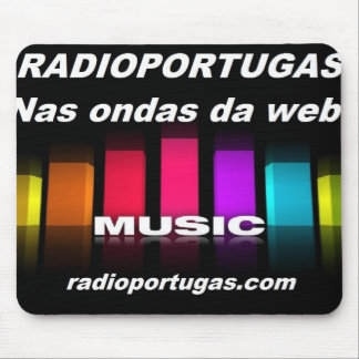 Radioportugas, in the waves of the web, carpet for mouse pad