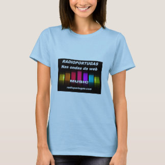 Radioportugas, in the waves of the web, feminine T-Shirt