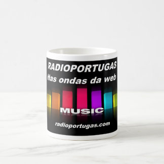 Radioportugas, in the waves of the web, mug
