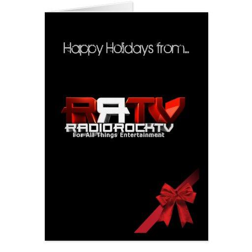 RadioRockTV Holiday Greeting Card