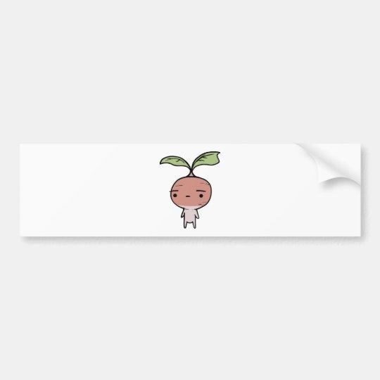 Radish Bumper Sticker