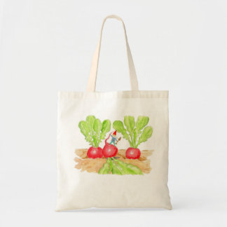 Radish Gnome tote bag