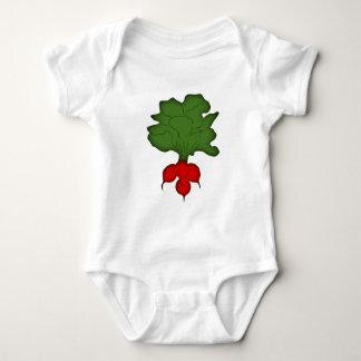 Radish radish baby bodysuit