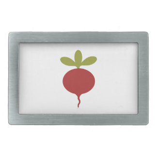 Radish Rectangular Belt Buckle