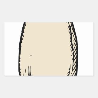 Radish Rectangular Sticker