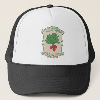 Radish Sign Trucker Hat