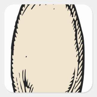 Radish Square Sticker
