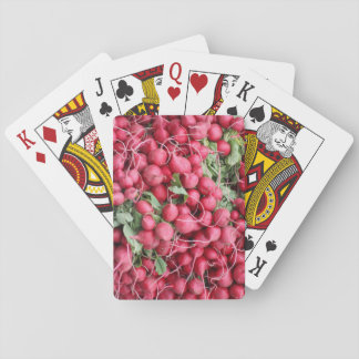 Radish Themed Classic Playing Cards