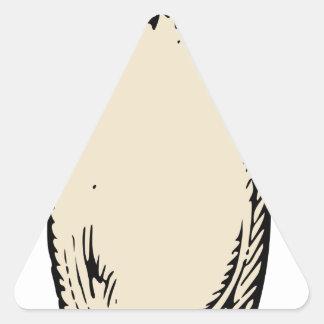 Radish Triangle Sticker