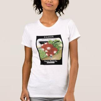 Radish White Tip Card Seed Co T-Shirt