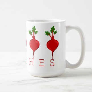 Radishes Coffee Mug