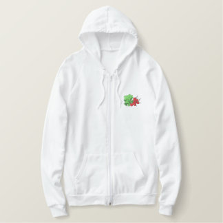 Radishes Embroidered Hoodies
