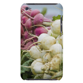 Radishes on display at farmer's market Case-Mate iPod touch case