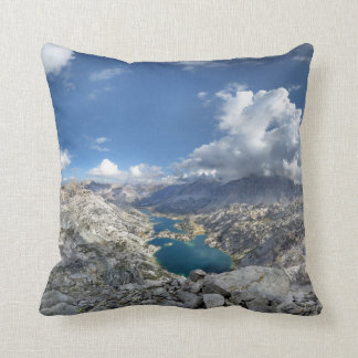 Rae Lakes from Painted Lady - John Muir Trail Cushion