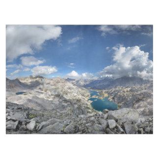 Rae Lakes from Painted Lady - John Muir Trail Tablecloth