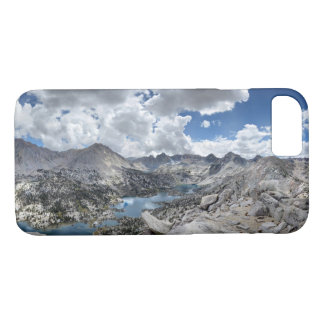 Rae Lakes Panorama from Fin Dome - John Muir Trail iPhone 8/7 Case