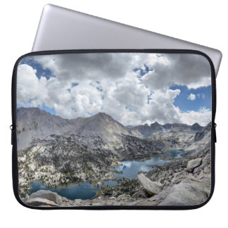Rae Lakes Panorama from Fin Dome - John Muir Trail Laptop Sleeve