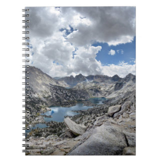 Rae Lakes Panorama from Fin Dome - John Muir Trail Notebook