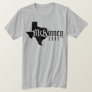 RAE - McKinney Love Distressed Black T-Shirt