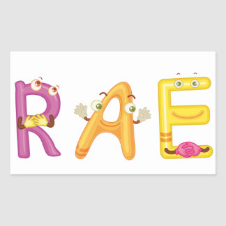 Rae Sticker