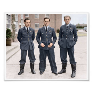 RAF Wing Commander Douglas Bader Photo Print