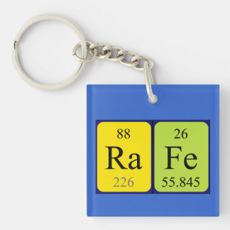 Rafe periodic table name keyring