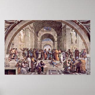 Raffaello Sanzio da Urbino - The School of Athens Poster