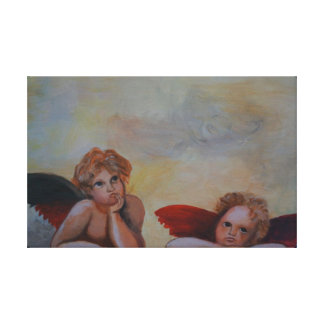Raffaels angel canvas print
