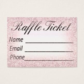 Raffle Ticket Invitation Insert